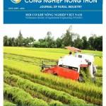 Tạp chí Công nghiệp nông thôn số 16/2015