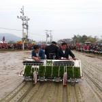 Lạng Sơn: Huyện Tràng Định đưa máy cấy lúa vào sản xuất