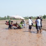 Hải Dương: Agribank Tứ Kỳ cho vay vốn và hỗ trợ lãi xuất mua máy cấy HAMCO