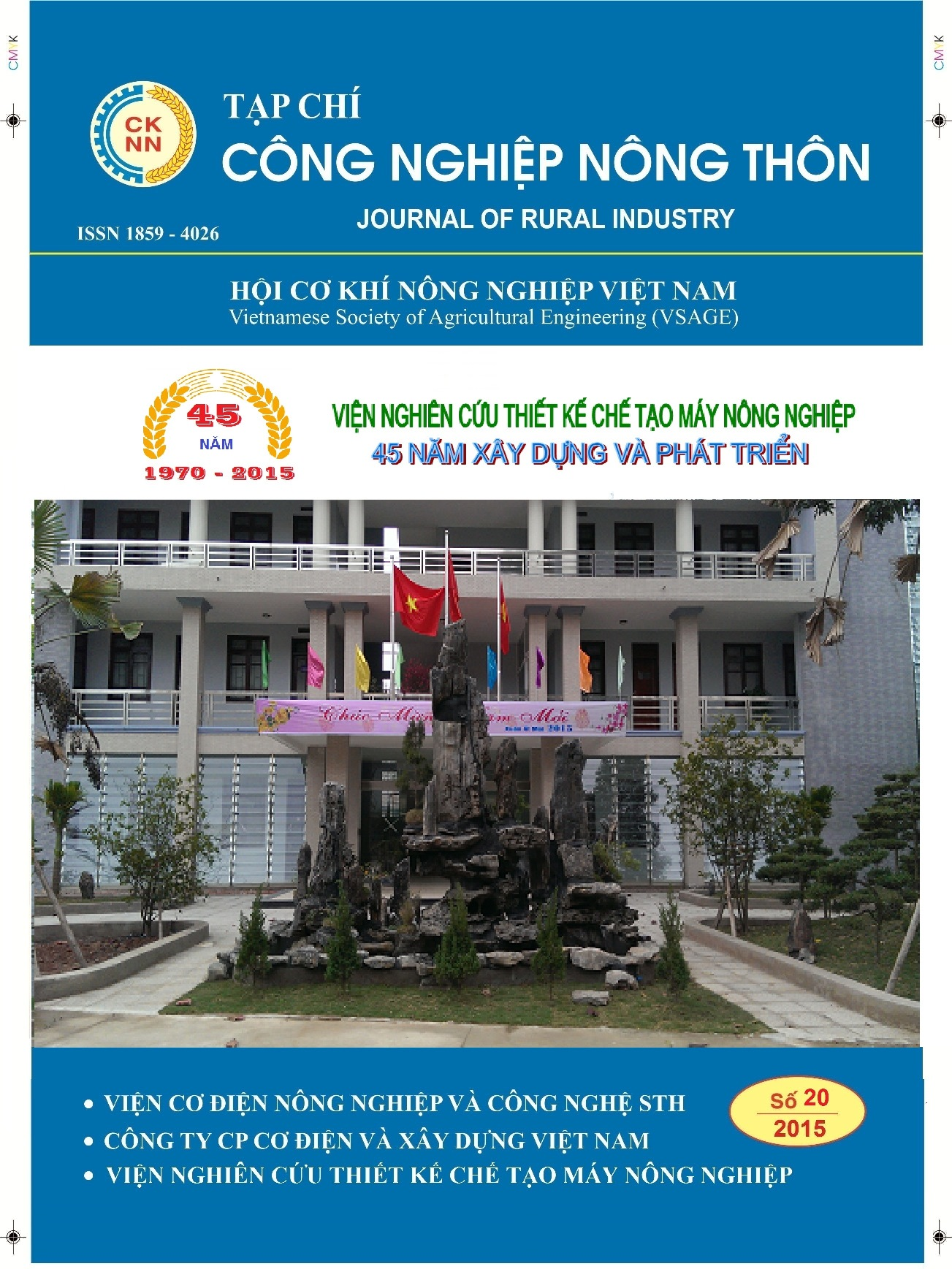 Tap chi cong nghiep nong thon so 20 -2015